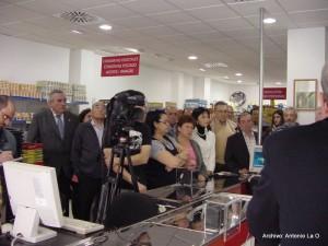 Con el Presidente de la Diputación de Huelva