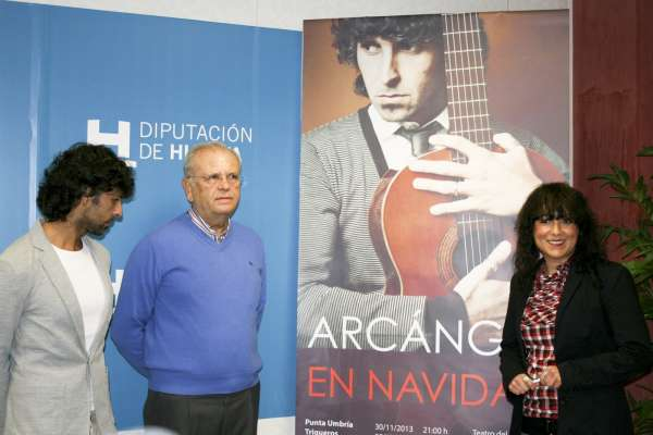 La gira 'Arcángel en Navidad' ofrecerá 7 actuaciones en municipios y un concierto benéfico en la Catedral