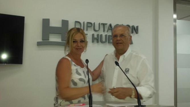 La Diputación de Huelva apoya el proyecto de nuestro Economato Resurgir