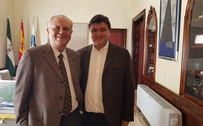 Con el Alcalde de Huelva