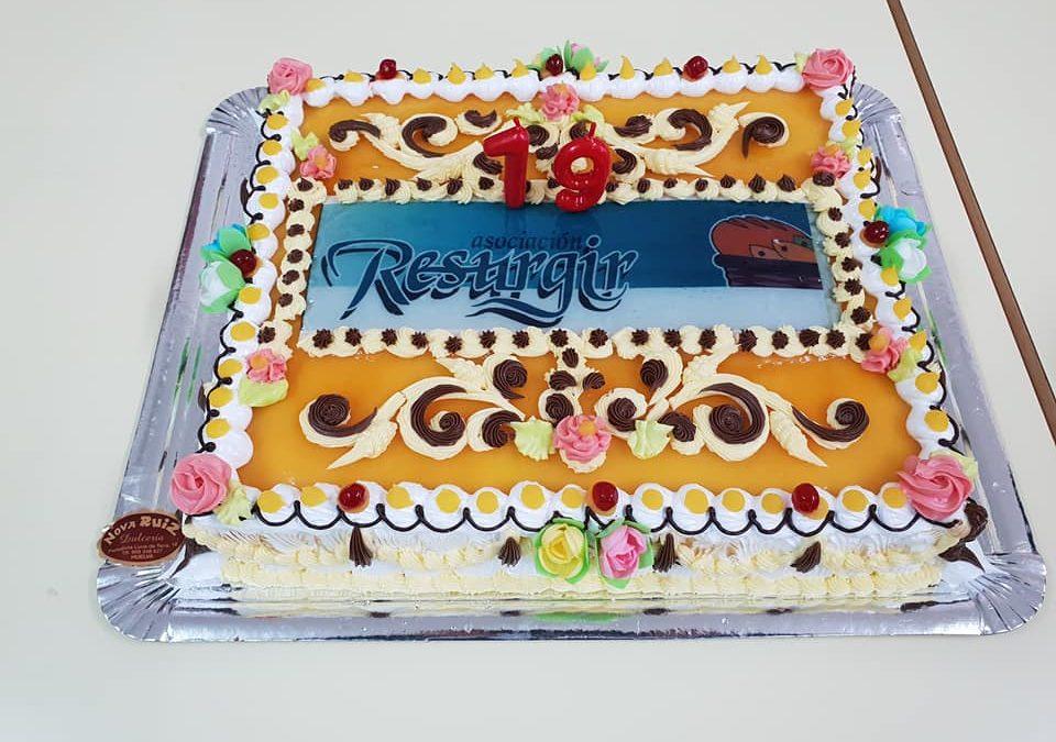 Celebramos los 19 años de Resurgir en compañía de todos los voluntarios