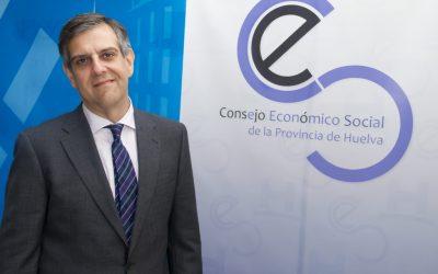 Juan José García del Hoyo, Presidente del CES: «Espero que esta Huelva despierte»