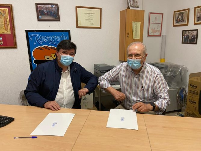 El Ayuntamiento de Huelva renueva el convenio con el Economato Social Resurgir (2)