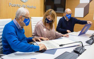 El Economato Resurgir recibe el apoyo del Puerto en su compromiso de ayudar a las familias más empobrecidas de Huelva