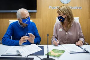 Puerto de Huelva con el Economato Solidario Resurgir (2)