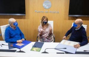Puerto de Huelva con el Economato Solidario Resurgir (5)