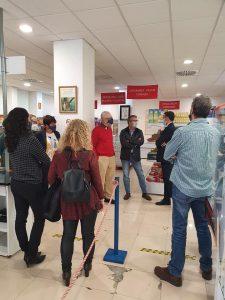 Fundacion La Caixa con el Economato Solidario Resurgir (1)