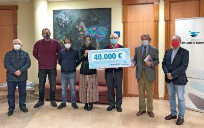 Fundación Atlantic Cooper, con los más vulnerables de Huelva