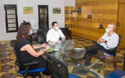 Aguas de Huelva, con nuestro Economato Solidario