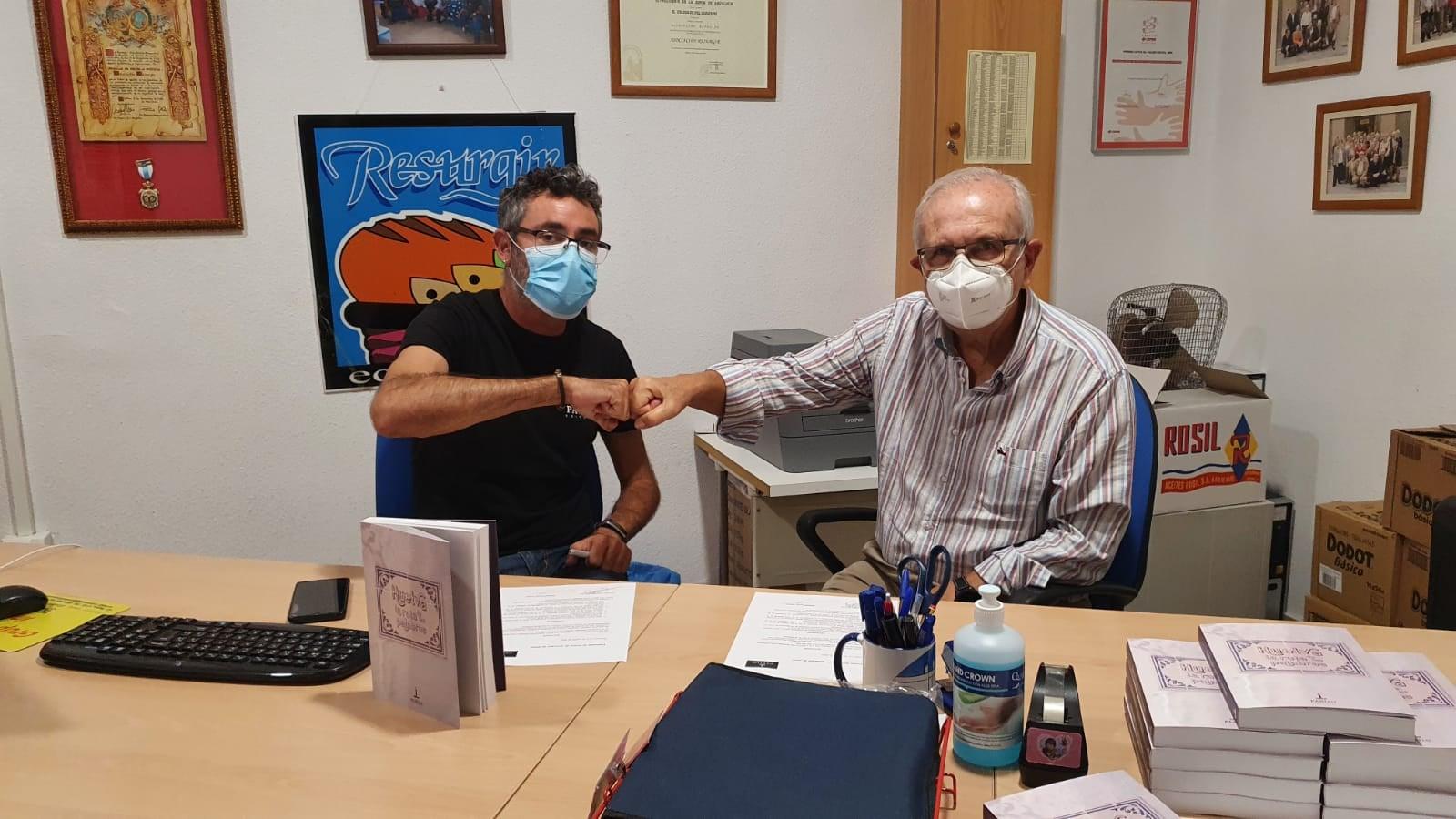 Huelva la ruta de las palabras con el economato solidario resurgir (1)